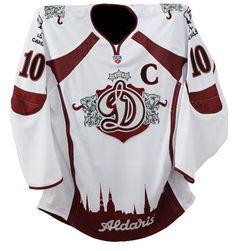 Dinamo Riga hockey jersey - Google Search