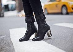 Fringe In – http://tsangtastic.com   Instagram @tsangtastic  Paige, Topshop, Vince, NYFW, New York Fashion Week, Fringe Jeans