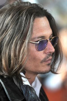 Johnny Depp. He just keeps getting better looking and better looking....with age.