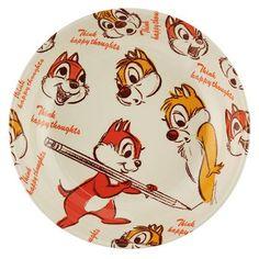 Chip & Dale Plate Disney Store Japan