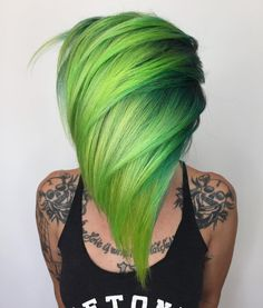 "462 Likes, 24 Comments - Isaac Roberts | San Diego (@isaac4mayor) on Instagram: ""Green hair don't care?!?! This hair reminds me of Sprout , the jolly green giant's kid from the…"""