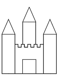 Fairy Tale Theme, Fairy Tales, Chateau Fort Moyen Age, Colouring Pages, Coloring Books, Princess Nursery, Château Fort, Princess And The Pea, Tracing Worksheets