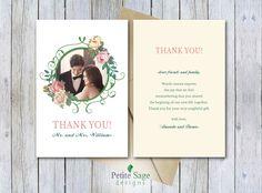 Printable Wedding DIY Thank You Card