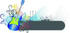 Anúncios guitarra Barra padrão de Fundo, Guitarra, Guitarra Azul, Padrão, Imagem de fundo