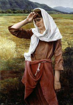 Original Russian Women Bible 38