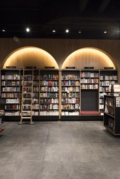 Gallery Of Readings Doncaster By Nest Architects Local Design And Interiors Doncaster, Vic Image 3 Commercial Architecture, Commercial Interior Design, Commercial Interiors, Modern Architecture, Public Library Design, Instalation Art, Continuous Lighting, Cove Lighting, Cosy Corner