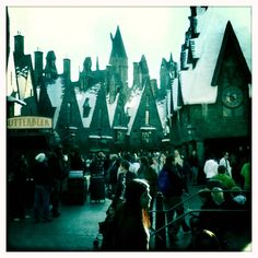 harry potter theme park. universal studios (mostly for Jim and Hensley)
