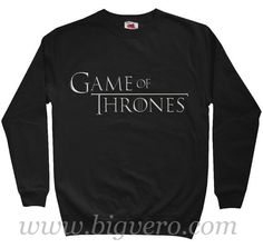 Game of Thrones Symbol Sweatshirt Size S-XXL