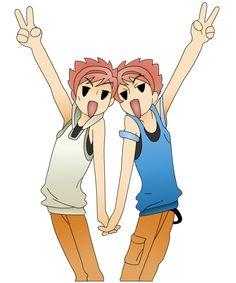 hikaru and Kaoru by ~Lillithrose on deviantART
