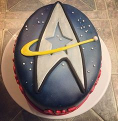 Star Trek cake- Javajunko Cakes