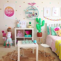 Kids rooms by four cheeky monkeys featuring Happy Ella After's NAME IT prints.