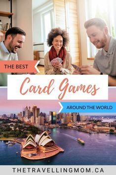 From classic card games of rummy and poker to fun and family-friendly UNO, these are some of the best card games from around the world. Fun Card Games, Card Games For Kids, Indoor Activities For Kids, Family Activities, Travel Activities, Pen And Paper Games, Classic Card Games, Solitaire Games, Action Cards
