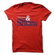 I Found Love Basketball T-Shirt | DonaShirts.com - Dare To Be T-Shirts, Hoodies And Custom