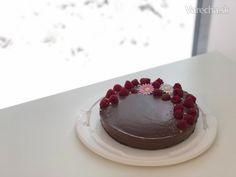 Jednoduchá+MILKA+torta+(fotorecept) Panna Cotta, Cheesecake, Ethnic Recipes, Sweet, Desserts, Food, Basket, Candy, Tailgate Desserts