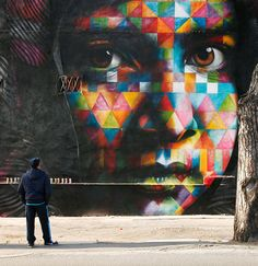 New York City, U.S.A Street Art by Eduardo Kobra