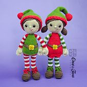 Ravelry: Jingle and Belle Amigurumi pattern by Carolina Guzman