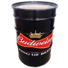 Tambor – versareanosdourados Oil Barrel, Metal Barrel, Vintage Industrial, Harley Davidson Vintage, Beer Can Collection, Container Bar, Beer Club, Barrel Table, Barrel Furniture