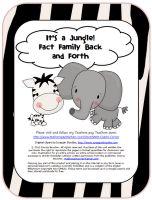 Classroom Freebies Too: Making Fact Families Fun