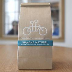 Tandem Coffee Roasters #packaging #design