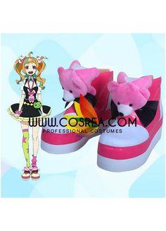 Kiznaiver Nico Niiyama Cosplay Shoes