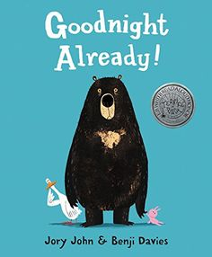 Goodnight Already! by Jory John http://smile.amazon.com/dp/006228620X/ref=cm_sw_r_pi_dp_GoGzvb0F899QB