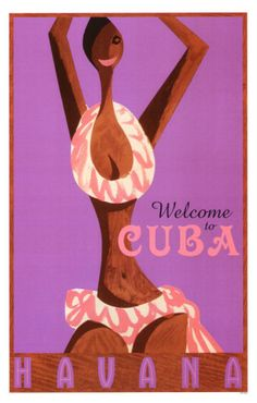 Havana- Welcome To Cuba Masterprint