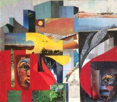 Elisabeth Rütsche - Galerie Collagen, Outdoor Decor, Painting, Home Decor, Art, Kunst, Art Background, Painting Art, Paintings