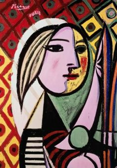 Painting woman face abstract pablo picasso New Ideas Kunst Picasso, Picasso Art, Picasso Paintings, Picasso Woman Painting, Cubist Movement, Francis Picabia, Famous Art, Oeuvre D'art, Painting Inspiration