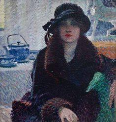 Woman Portrait - Aleardo Terzi Italian 1870-1943 Oil on canvas