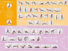 yoga sonnengruß poster - Google-Suche