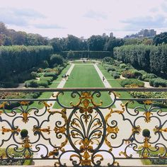 gardens of the musée rodin, paris