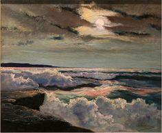 'Moonrise' - Anthony Thieme (1888–1954)  Lillith's Place