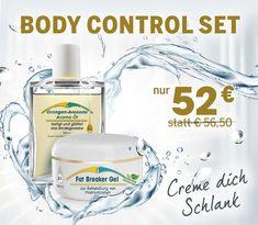 Cremen Sie sich täglich mit dem Body Control Set ein und lassen Sie sich von der intensiven Wirkung überraschen!
