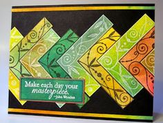 Peachy Papercrafting: Michael Strong stamps