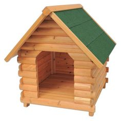 Petsmart.com - Dog: Houses & Outdoor Kennels: Advantek The Mountain Cabin Dog House - Honey