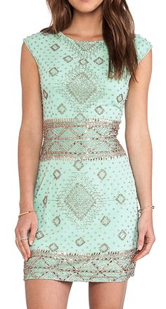 embellished cap sleeve dress http://rstyle.me/n/i355vpdpe
