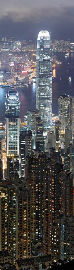 Hong Kong Sykline at Night 2