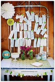 the makings of a guest book quilt