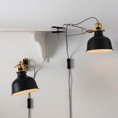 RANARP Wall/clamp spotlight with LED bulb IKEA The lamp can be mounted in two ways: as a clamp spotlight or as a wall lamp. Ikea Wall Lights, Ikea Wall Lamp, Wall Mounted Bedside Lamp, Wall Lamps, Led E14, Spot Mural, Clamp Lamp, Clear Light Bulbs, Handarbeit