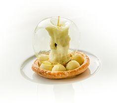 Das berühmte Apfel-Dessert von @rvanoostenbrugge, Küchenchef im @restaurantbordeau   #foodizm