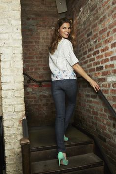 Add some #mint heels to your skinny jeans!