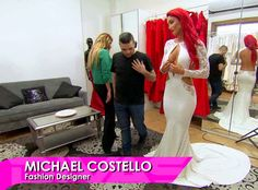 WWE Total Divas' Eva Marie Steps Out in Her Wedding Dress—See the Risqué Design!  Total Divas