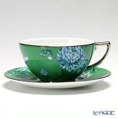 Wedgwood Jasper Conran Chinoiserie tea cup and saucer 300cc (Green)