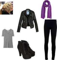 """""""Purple touch"""" by caf2403 on Polyvore"""