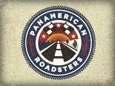 Dribbble - Panamerican Roadsters by Adam Trageser