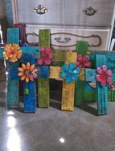 Pretty crosses by 2 funky chix find us on etsy n fb