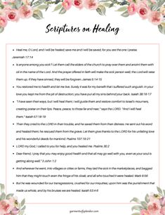 Looking for ways to pray and declare healing over your life? Check out nine Scriptures on healing that you can pray and declare over your situation! Healing Heart Quotes, Healing Scriptures, Prayers For Healing, Bible Prayers, Prayer Scriptures, Bible Verses Quotes Inspirational, Inspirational Prayers, Spiritual Quotes, Bible Quotes