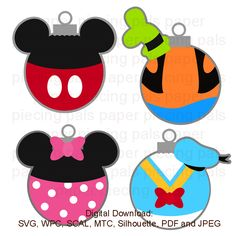 SVG cut file. Magical Ornaments.  #Disney