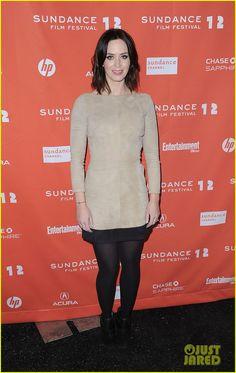 Emily Blunt: 'Your Sister's Sister' Sundance Premiere!
