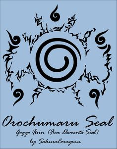 Orochumaru Seal - Vector by Sakuracorazonn on deviantART
